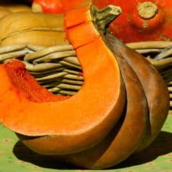 Velouté de potiron et carottes